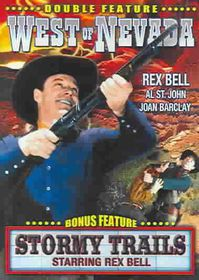 West of Nevada/Stormy Trails - (Region 1 Import DVD)