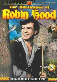Adventures of Robin Hood - Vol 5 Classic TV Series - (Region 1 Import DVD)
