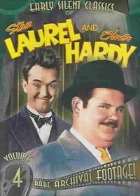 Early Silent Classics of Stan Laurel and Oliver Hardy Vol 4 - (Region 1 Import DVD)
