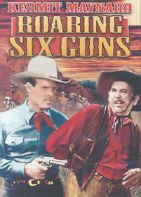 Roaring Six Guns - (Region 1 Import DVD)