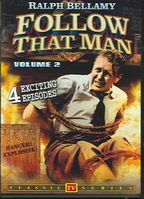 Follow That Man (Aka Man Against Crime): Vol 2 - TV Classics - (Region 1 Import DVD)