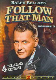 Follow That Man (Aka Man Against Crime): Vol 3 - TV Classics - (Region 1 Import DVD)