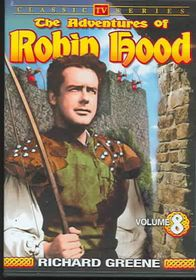 Adventures Of Robin Hood - Vol 8 Classic Television - (Region 1 Import DVD)