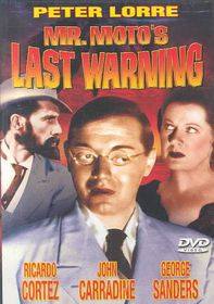 Mr. Moto's Last Warning - (Region 1 Import DVD)
