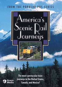 America's Scenic Rail Journeys - (Region 1 Import DVD)