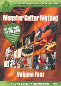 Monster Guitar Method Vol 4 - (Region 1 Import DVD)