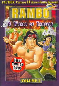Rambo Vol 1:World of Trouble - (Region 1 Import DVD)