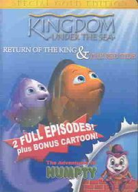 Kingdom Under the Sea: Return of the King/The Red Tide - (Region 1 Import DVD)