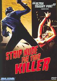 Strip Nude for Your Killer - (Region 1 Import DVD)