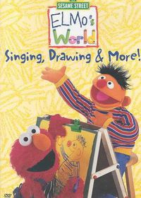 Elmo's World:Singing Drawing & More - (Region 1 Import DVD)