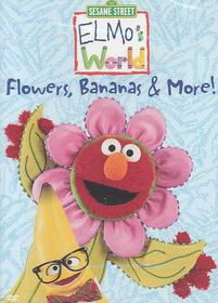 Elmo's World:Flowers Bananas & More - (Region 1 Import DVD)