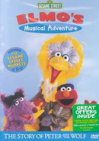 Sesame Street - Elmo's Musical Adventure: The Story of Peter and the Wolf - (Region 1 Import DVD)