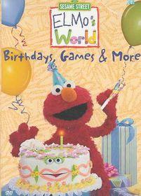 Elmo's World:Birthdays Games & More - (Region 1 Import DVD)