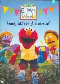 Elmo's World:Food Water & Exercise - (Region 1 Import DVD)