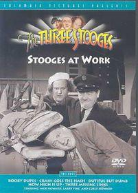 Three Stooges - Stooges at Work - (Region 1 Import DVD)