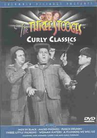 Three Stooges:Curly Classics - (Region 1 Import DVD)