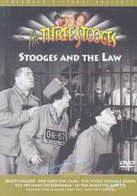 Three Stooges:Stooges and the Law - (Region 1 Import DVD)