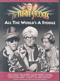 Three Stooges - All the World's a Stooge - (Region 1 Import DVD)