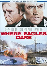 Where Eagles Dare - (Region 1 Import DVD)