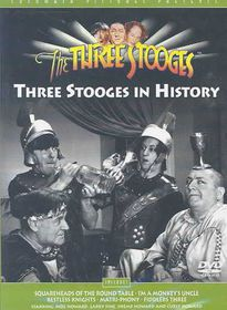 Three Stooges:Stooges in History - (Region 1 Import DVD)