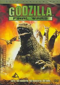Godzilla:Final Wars - (Region 1 Import DVD)