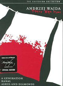 Andrzej Wajda:Three War Films - (Region 1 Import DVD)