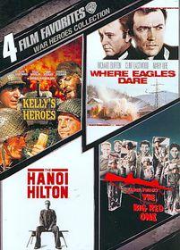 4 Film Favorites:War Heroes - (Region 1 Import DVD)
