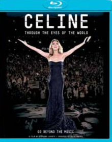 Dion Celine - Through The Eyes Of The World (Blu-Ray)