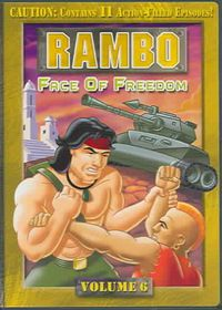 Rambo Vol 6:Face of Freedom - (Region 1 Import DVD)