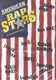 American Rap Stars  (Flag Art) - (Region 1 Import DVD)