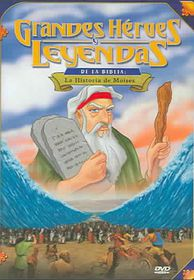 La Historia De Moises - (Region 1 Import DVD)