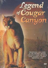 Legend of Cougar Canyon - (Region 1 Import DVD)