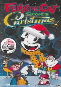 Felix the Cat Saves Christmas - (Region 1 Import DVD)
