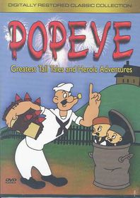 Popeye - Greatest Tall Tales and Heroic Adventures - (Region 1 Import DVD)