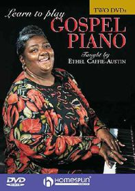 Learn to Play Gospel Piano - (Region 1 Import DVD)