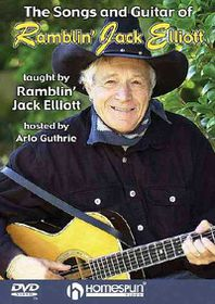 Songs and Guitar of Ramblin Jack - (Region 1 Import DVD)