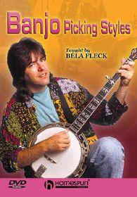 Bela Fleck Teaches Banjo Picking Styles - (Region 1 Import DVD)