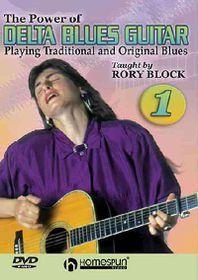 Power of Delta Blues Guitar Vol 1 - (Region 1 Import DVD)