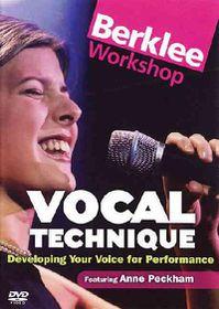Vocal Technique (Region 1 Import DVD)