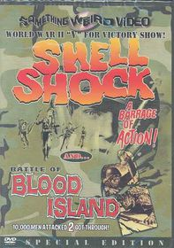 Shell Shock/The Battle of Blood Island - Double Feature - (Region 1 Import DVD)