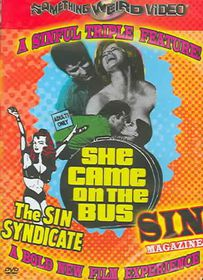 Sin Syndicate/Sin Magazine/She Came On the Bus - (Region 1 Import DVD)