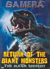 Return of the Giant Monsters: The Magic Serpent - (Region 1 Import DVD)