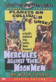 Hercules Against the Moon Men/The Witch's Curse - (Region 1 Import DVD)