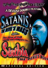 Satanis the Devil's Mass/Sinthia the - (Region 1 Import DVD)
