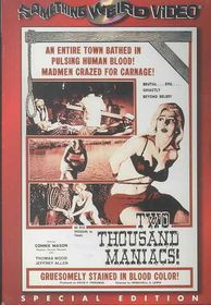 Two Thousand Maniacs - (Region 1 Import DVD)