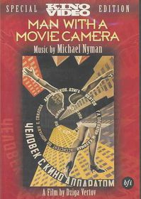 Man with a Movie Camera - (Region 1 Import DVD)