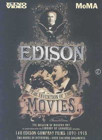 Edison:Invention of the Movies - (Region 1 Import DVD)