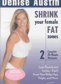 Shrink Your Female Fat Zones - (Region 1 Import DVD)