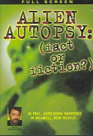 Alien Autopsy:(Fact or Fiction) - (Region 1 Import DVD)