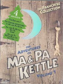 Adventures of Ma and Pa Kettle: Volume 1 - (Region 1 Import DVD)